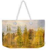 Autumn Shear Poplars Weekender Tote Bag