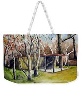 Autumn Shed Weekender Tote Bag