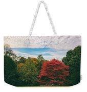 Autumn Skies Weekender Tote Bag