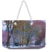 Autumn Snow Weekender Tote Bag by James BO  Insogna