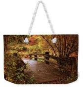 Autumn Splendor Bridge Weekender Tote Bag