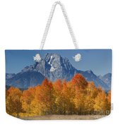 Autumn Splendor In Grand Teton Weekender Tote Bag