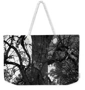 Autumn Spook In Black And White Weekender Tote Bag