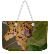 Autumn Spotted Weekender Tote Bag