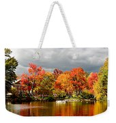 Autumn Storm Coming Weekender Tote Bag