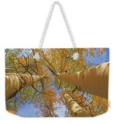 Autumn Straight Up Weekender Tote Bag