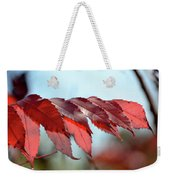 Autumn Sumac Weekender Tote Bag