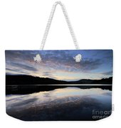 Autumn Sunset, Ladybower Reservoir Derwent Valley Derbyshire Weekender Tote Bag