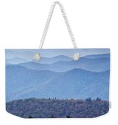Autumn Sunset On The Parkway Weekender Tote Bag