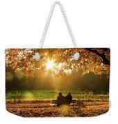 Autumn Sunshine In The Lichtentaler Allee. Baden-baden. Germany. Weekender Tote Bag