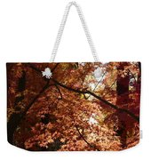 Autumn Sunshine Poster Weekender Tote Bag