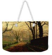 Autumn Sunshine Stapleton Parknear Pontefract  Weekender Tote Bag