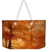 Autumn Tapestry - Lake Carasaljo Weekender Tote Bag