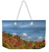 Autumn Tranquility Weekender Tote Bag