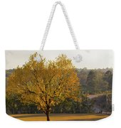 Autumn Tree At Sunset Weekender Tote Bag