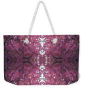 Autumn Tree Leaves Fractal B3 Mid Weekender Tote Bag
