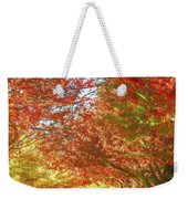 Autumn Trees Digital Watercolor Weekender Tote Bag