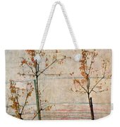 Autumn Trees Weekender Tote Bag by Egon Schiele