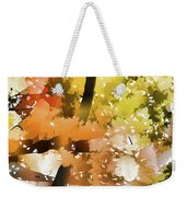 Autumn Trees In The Fog Weekender Tote Bag