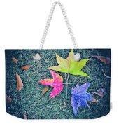 Autumn Trio Weekender Tote Bag