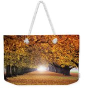 Autumn Tunnel Weekender Tote Bag