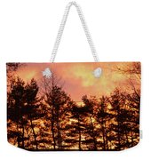 Autumn Twilight Weekender Tote Bag