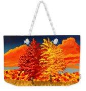 Autumn Twins Weekender Tote Bag
