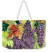Autumn Vineyard In Its Glory - Batik Style Weekender Tote Bag
