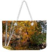 Autumn Vintage Landscape 5 Weekender Tote Bag