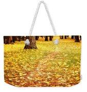 Autumn Walk In Spokane Weekender Tote Bag