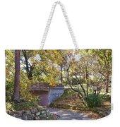 Autumn Walk In The Park Weekender Tote Bag