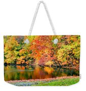 Autumn Warmth Weekender Tote Bag