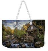 Autumn Water Wheel Weekender Tote Bag