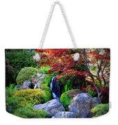 Autumn Waterfall Weekender Tote Bag by Carol Groenen