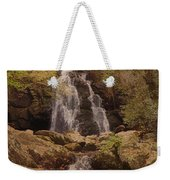 Autumn Waterfall In The Great Smoky Mountains Weekender Tote Bag