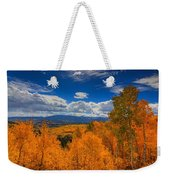 Autumn Wildfire At Ohio Pass Weekender Tote Bag