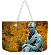 Autumn With Mr. Cooper Weekender Tote Bag