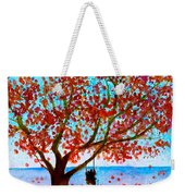 Together In Autumn  Weekender Tote Bag