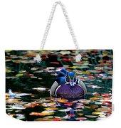 Autumn Wood Duck Weekender Tote Bag