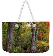Autumn Woodland Weekender Tote Bag