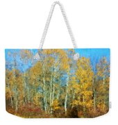 Autumn Woodlot Weekender Tote Bag