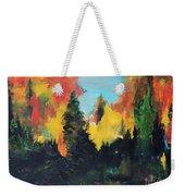 Autumnal Colors Weekender Tote Bag