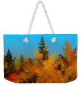 Autumnal Forest Weekender Tote Bag