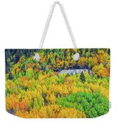 Autumnal Kaleidoscope  Weekender Tote Bag