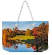 Autumnal Scene Weekender Tote Bag