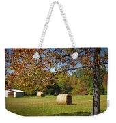 Autumnal Scenery Along Helmstetler Road Weekender Tote Bag