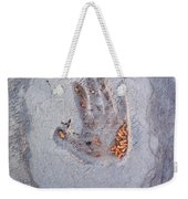 Autumns Child Or Hand In Concrete Weekender Tote Bag