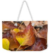Autumns Color Palette Weekender Tote Bag