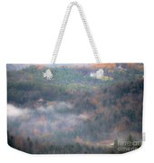 Autumns Fading Color Weekender Tote Bag