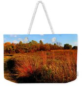 Autumns Field Weekender Tote Bag